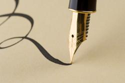 Writing Pen Wallpaper 70. Geburtstag - Spr&#...